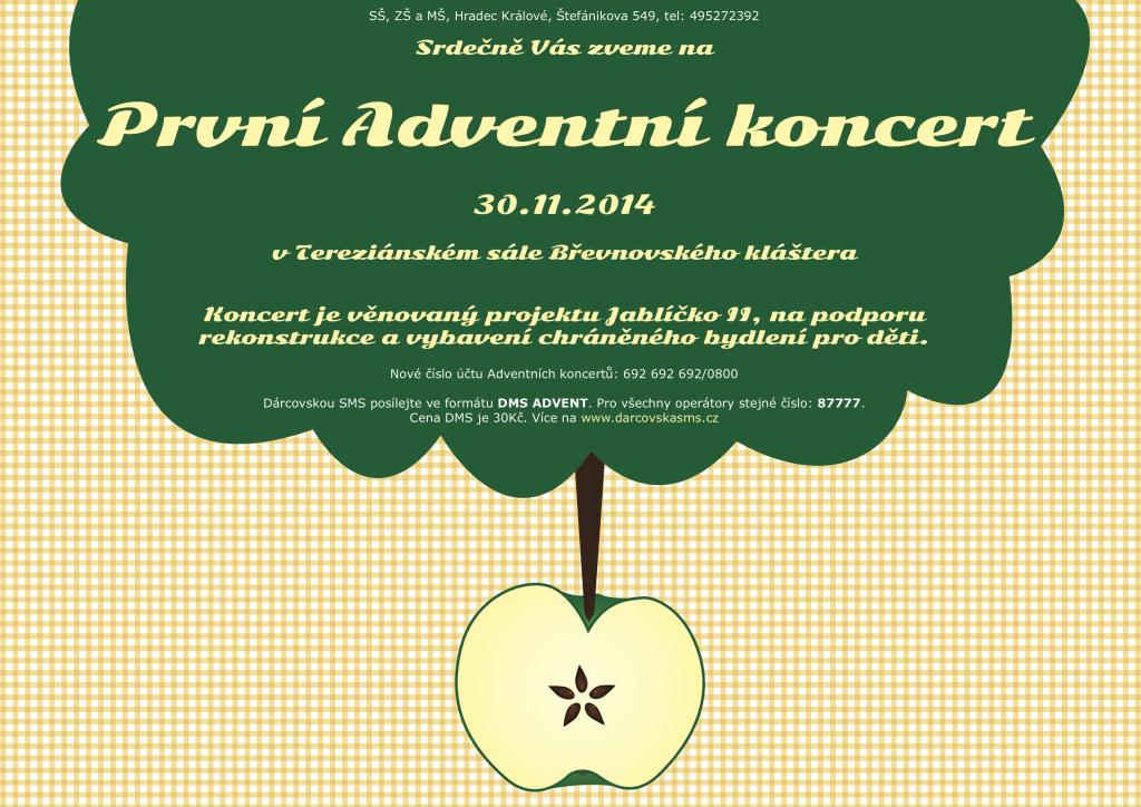 Pozvánka Adventní koncert