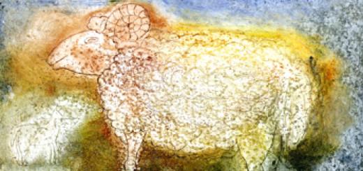 Velikonoční beránek – náhled